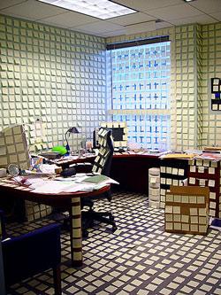 office post-it prank